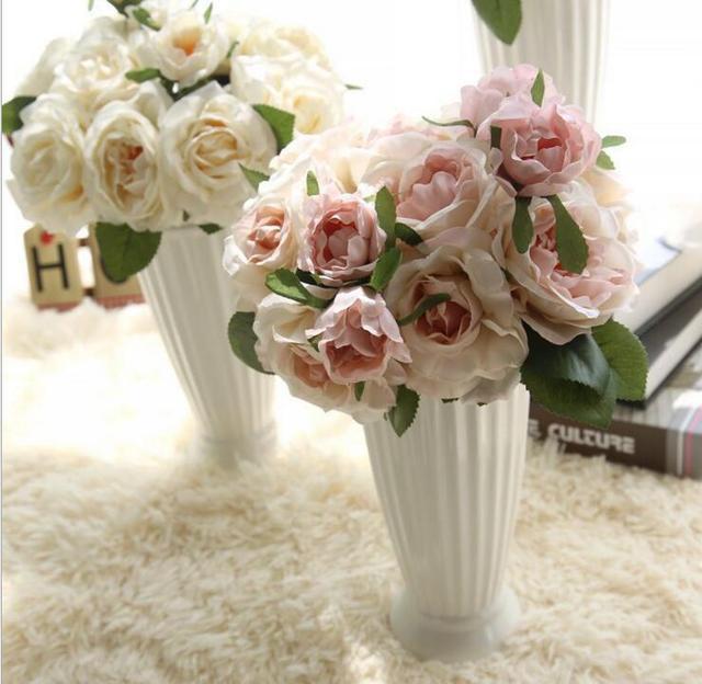 Le Bouquet de Ludovicum XIV Rose Fleur Artificielle Pour La Maison ...