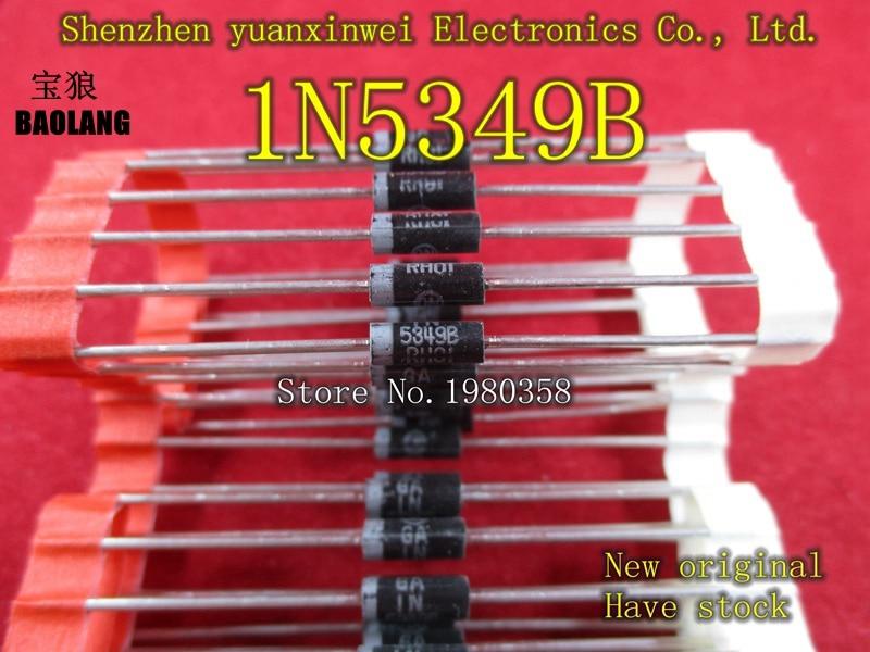 Livraison gratuite 50 pcs 1N5349B IN5349B Zener diode 12 V 5 W DO-15 IN5349Livraison gratuite 50 pcs 1N5349B IN5349B Zener diode 12 V 5 W DO-15 IN5349