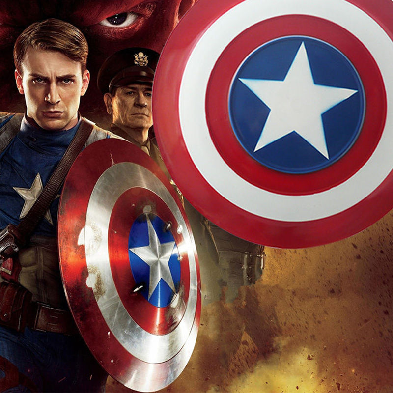 The Avengers Civil War Captain America Shield 1:1 1/1 Cosplay captain america Steve Rogers ABS model adult shield replica toys captain america civil war hawkeye clinton cosplay costume francis barton csosplay costume superhero halloween party custom made