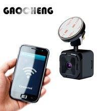 Novo MINI Wifi Carro Dvr 1080 P Carro Dvr Câmera de Vídeo gravador de 140 Graus Traço cam Visão Noturna monitor De Estacionamento 20 dias