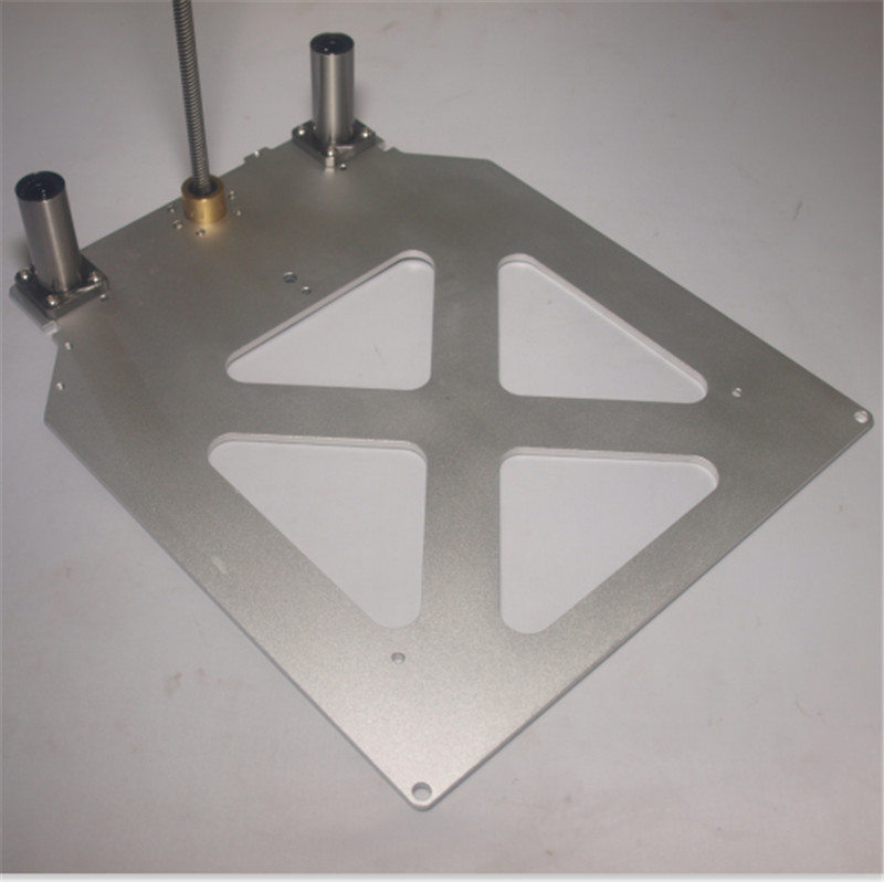 Funssor Upgrade Utimaker 2 /Extended + 3D printer accessories light Z Print Table Base Plate anti-backlash POM nut LMK12LUU