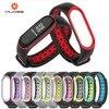 Mi bande 3 Bracelet bracelet Bracelet montre pour Mi band3 accessoires bracelet intelligent sport Silicone Bracelet pour mi bande 4 1