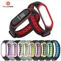 Mi Band 3 Strap Armband handgelenk xio mi mi band3 zubehör smart armband sport Silikon Strap für Xiao mi mi band 3-in Cleveres Zubehör aus Verbraucherelektronik bei