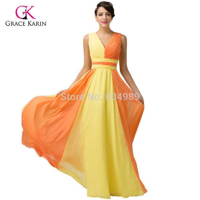 Yellow and Black Evening Dresses – Fashion dresses