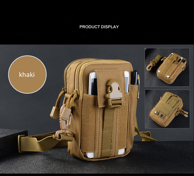 Multifunctional Camping Waist Pack Climbing Emergency Molle Survival Kits Outdoor Tactical Bag Wallet Pouch Outdoor Sport Pack (9)