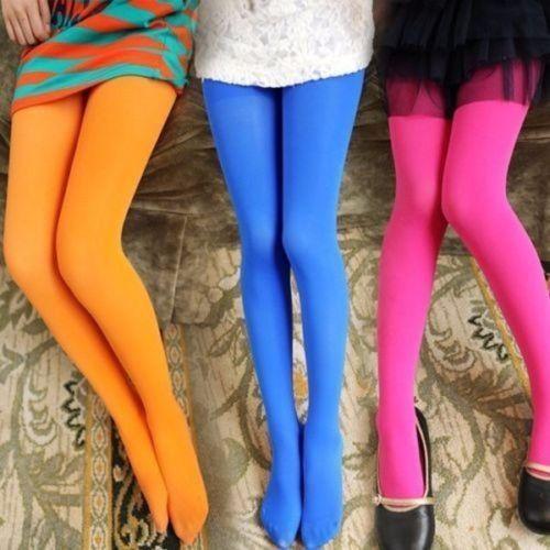 Cute Girls Baby Kids Toddlers Cotton Pantyhose Pants Cotton Tights Stockings Hose Ballet Black Pink Red White