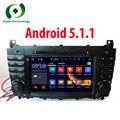 Quad Core 2 Дин Автомобиль DVD GPS для Mercedes/Benz C Class W203 Android 2004-2007 c200 C230 C240 C320 C350 CLK W209 Радио WiFi 3 Г