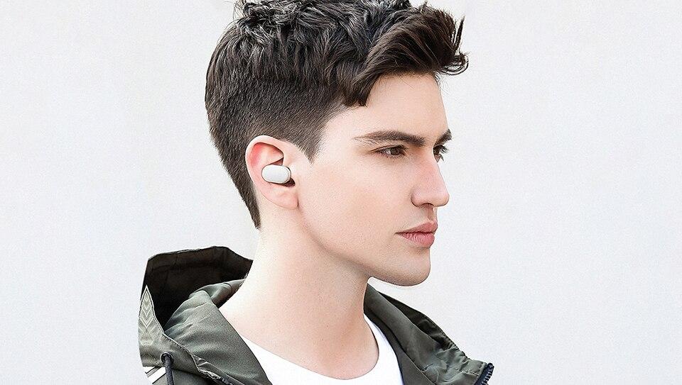 Original Xiaomi Wireless Bluetooth Earphone Mini Headset Bluetooth 4.1 Xiaomi Mi LYEJ05LM Earphone Build-in Mic Handfree (2)