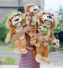the stuffed lovely animal lion plush toys Malaga lion doll birthday gift  about 40cm