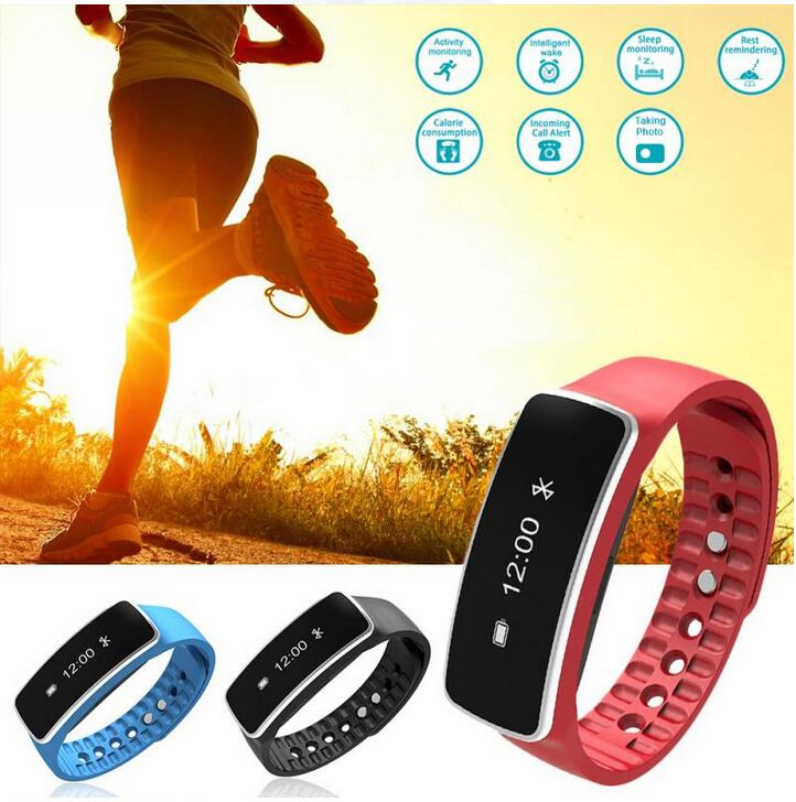 V5 Smart Band Bracelet Wearable Sport Fitness sleep Tracker MSG Call Bracelet Smartband Bluetooth For IOS