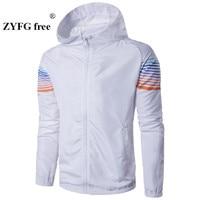 2017 Men Casual Jacket hoodies men New Spring sun protection clothing men jacket ultra light breathable waterproof Jacket men's
