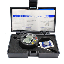 1PC High-Precision Digital Indicators 0-12.7x0.01mm  Range 0-12.7mm Resolution 0.01mm Digital Display Percentage Dial Indicator shahe 0 12 7mm 0 001mm high accuracy electronic digital micron indicator 0 001mm digital indicators