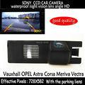 SONY CCD HD Car Rear View Reversa Backup de estacionamento Cor câmera de visão noturna para Vauxhall OPEL Astra Vectra Corsa Meriva Zafira