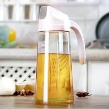 HS040 Kitchen Transparent dustproof and leakproof glass oil kettle bottle