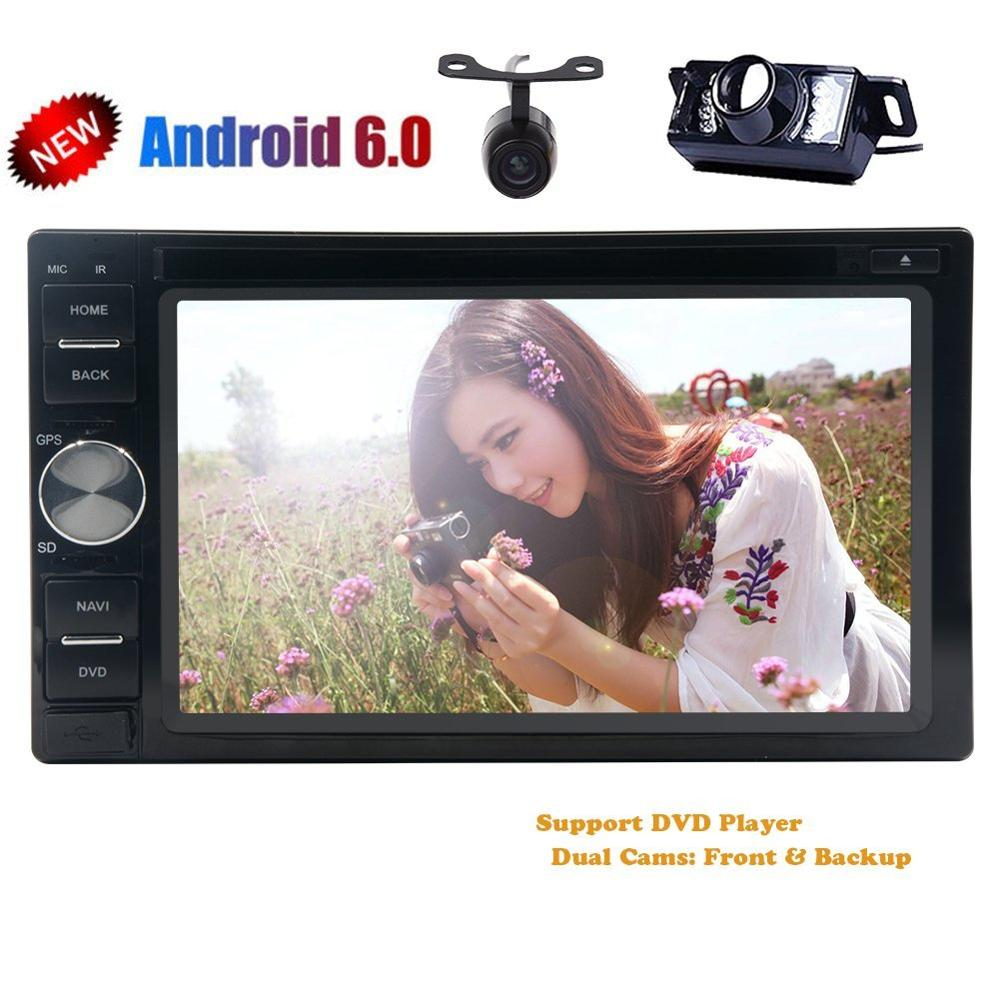 Quad Core autoradio 2 din android 6 0 font b radio b font gps navigation car