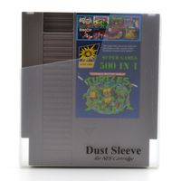 High Quality 500 In 1 Game Card 72 Pins NES Game Cartridge Replacement Plastic Shell Free