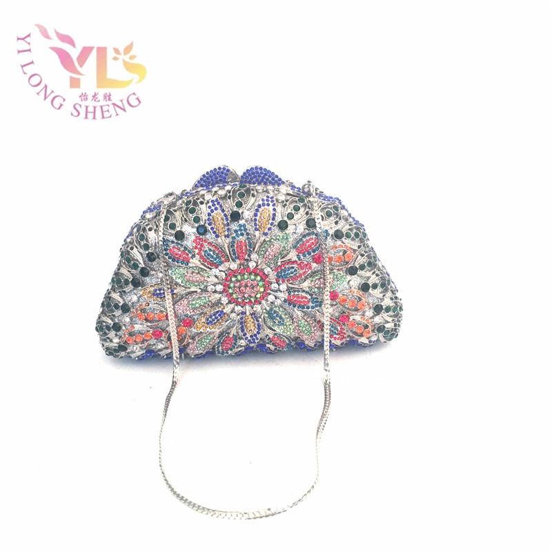 Women Crystal Clutch Bag High Quality Hollow Evening Bags HandbagS Famous Brands YLS-F73 секатор grinda универсальный 185мм 8 423031 z01