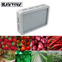 Rayway полный ассортимент 300 Вт растет свет 100 светодиоды Красный Синий Белый УФ ИК растет светильник для лекарственных растений Рост гидропон...