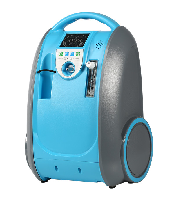 Medical and Health Care Battery Oxygen Concentrator Home Car and Outdoor Travel Use COPD Heart Respiratory Disease O2 Generator healthcare oxygen concentrator continuous flow mini oxygen generator for outdoor home medical use moveable o2 concentrator