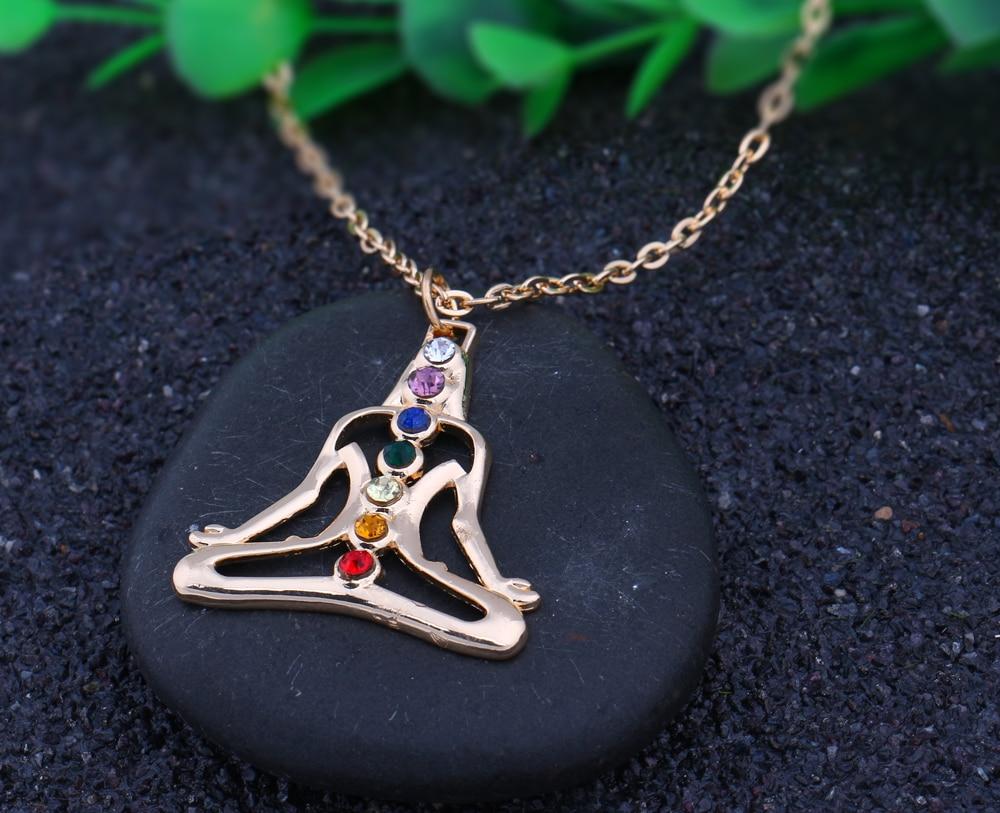 Meditation Chakra Healing Necklace 3