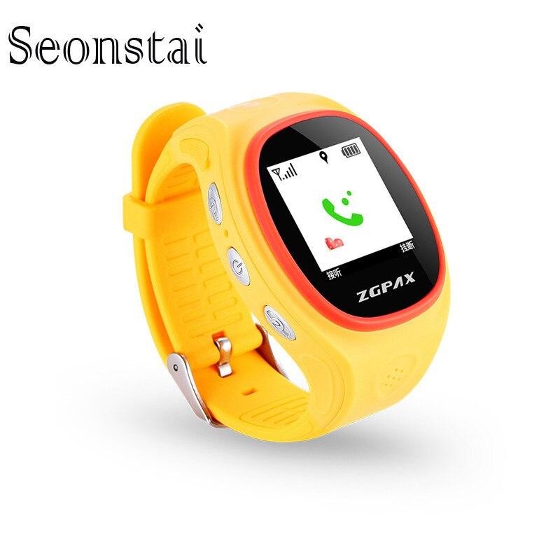 S866 Kids font b Smart b font Watch with SOS GPS Bluetooth Smartwatch Waterproof Wrist Watch