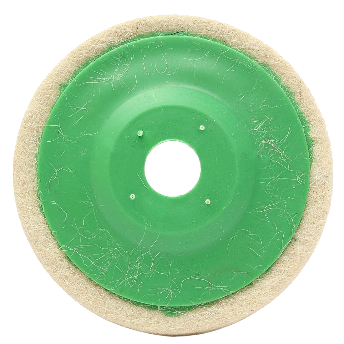NFLC-10pcs 100mm 4 Inch Round Wool Buffing Pad Polishing Wheel Felt Buffer Disc Set ...