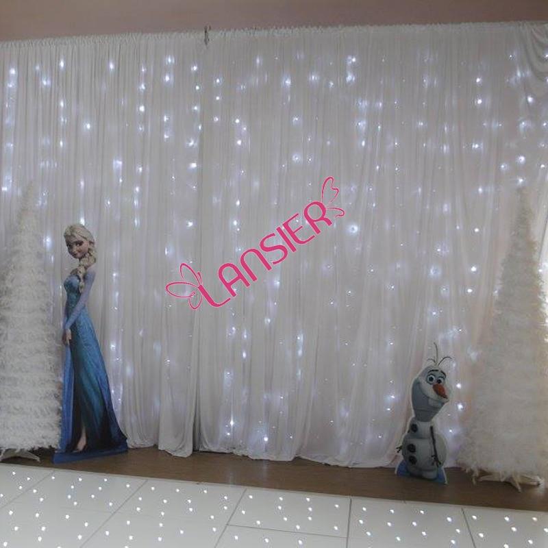 Popular Wedding Backdrop Lighted Curtain Buy Cheap Wedding