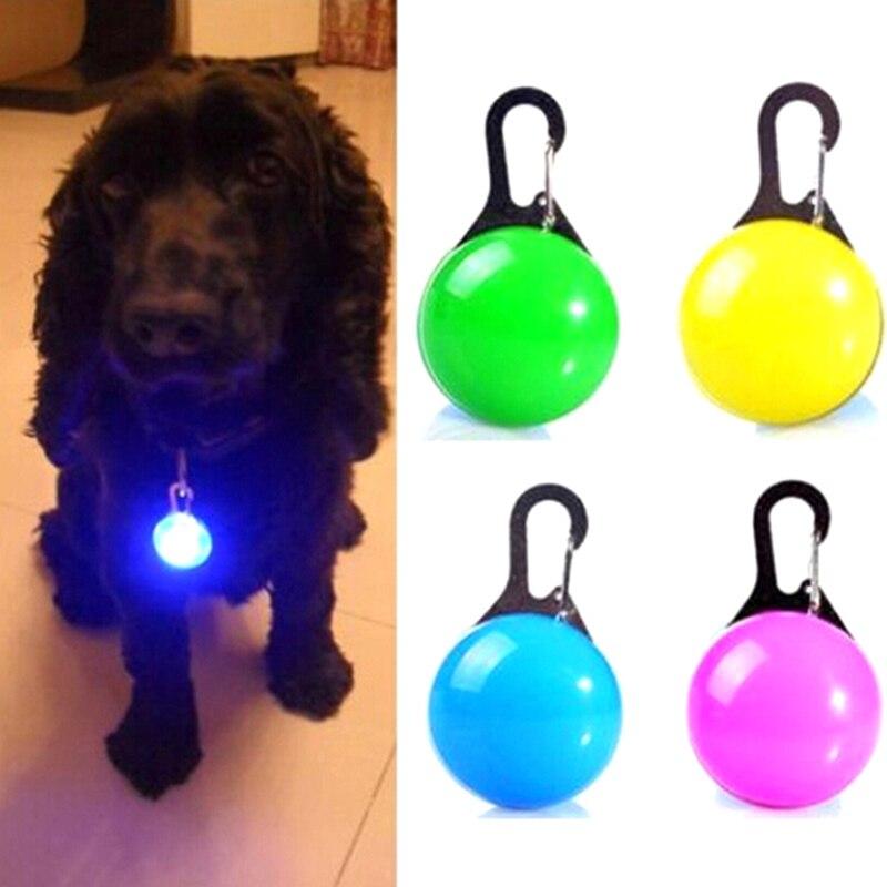 LED Lumineux Pendentif Collier Sécurité Chiot Chien Chat Night Light Clignotant Collier de Votre chien Lumineux Lumineux Rougeoyant Dans Lobscurité Nouveau