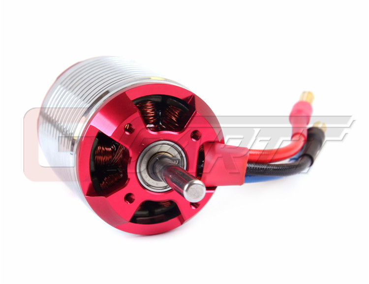 Gartt 1220KV Brushless Motor For 550/600 Align Trex RC Helicopter Red Color Wtih Case gartt helicopter parts 3600kv 210 w brushless motor for 250 align trex rc helicopter red