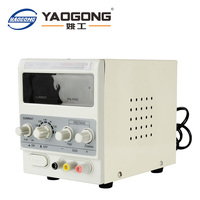 Yaogong 1502DD hot sale item 15V 2A ac to dc power supply adjustable current for mobile phone repair