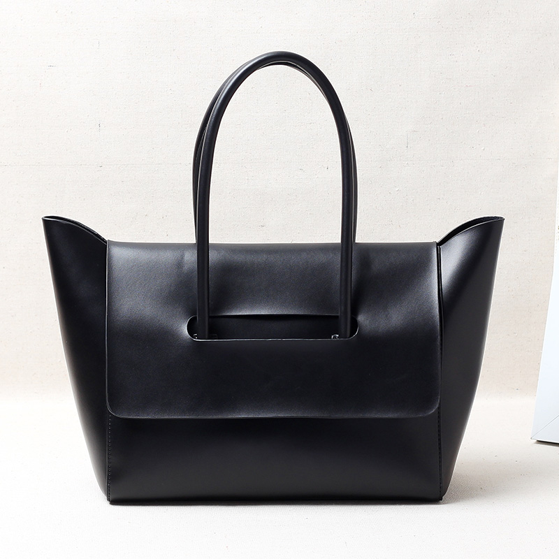 2017 Fashion Women shoulder bags and hansbags Genuine leather women s tote bag soft leather handle