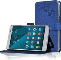 יוקרה חדשה באיכות גבוהה Folio Stand עור פרח הדפסת אופנה MediaPad כיסוי קייס עור עבור Huawei Honor X2 X2 7