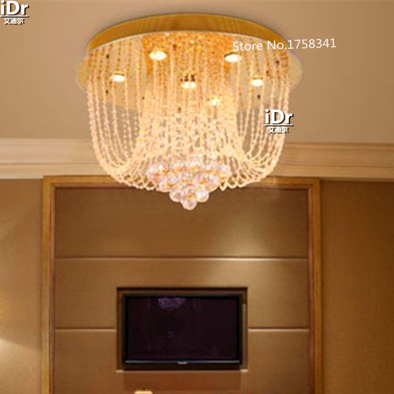 Modern The new project of high quality modern crystal lamp ceiling living room Dia450mm RD 015
