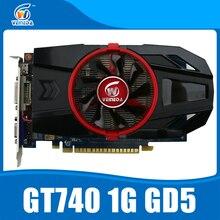 GeForce Чипсет видео Графическая карта GT740 1 ГБ GDDR5 128BIT сильнее, чем GT730, GT640