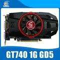 Nvidia Geforce video card GTX740 1GB GDDR5 128BIT stronger than GT730, GT640