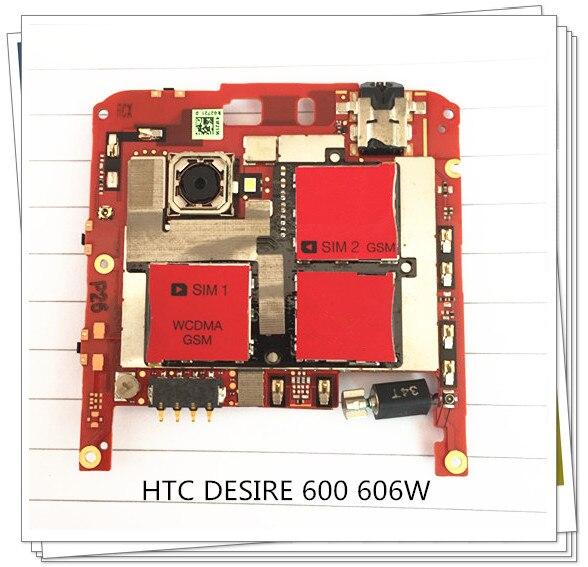 English language~ Original Motherboard For HTC Desire 600 dual sim 606W Mainboard Board Free ShippingEnglish language~ Original Motherboard For HTC Desire 600 dual sim 606W Mainboard Board Free Shipping