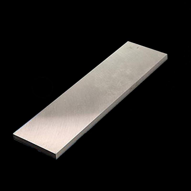 Couteau de bricolage en acier rapide, outil de tournage de couteaux en acier rapide plaque HSS en acier 400mm plaque en acier à haute résistance HRC 60-62