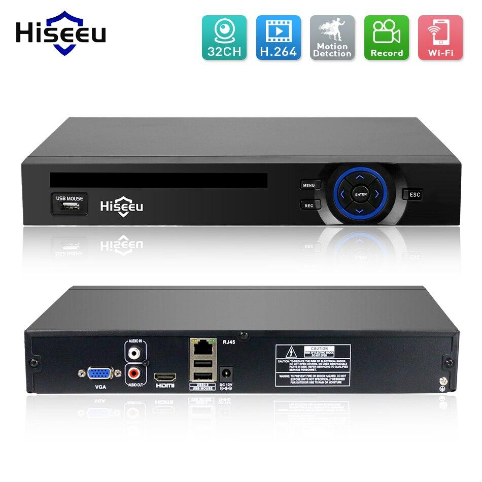 2HDD 25CH 5MP 32CH 1080 P 8CH 4 К CCTV H.264/H.265 NVR видеорегистратор сетевой Регистраторы Onvif 2.0 для IP Камера 2 SATA xmeye P2P облако