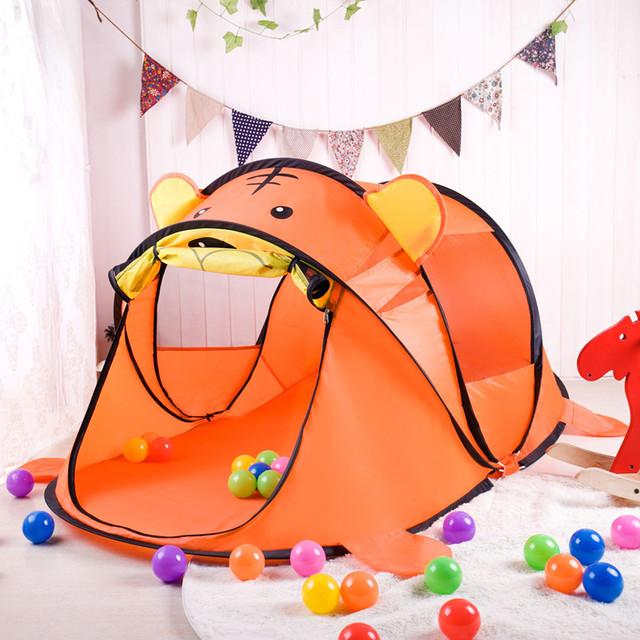 Chegam novas Grande Presente para Crianças Grande SizeTent Qualidade Jogo Tenda Casa Jogo Criança Bonita Bonita Jogo Tenda Interior E Exterior