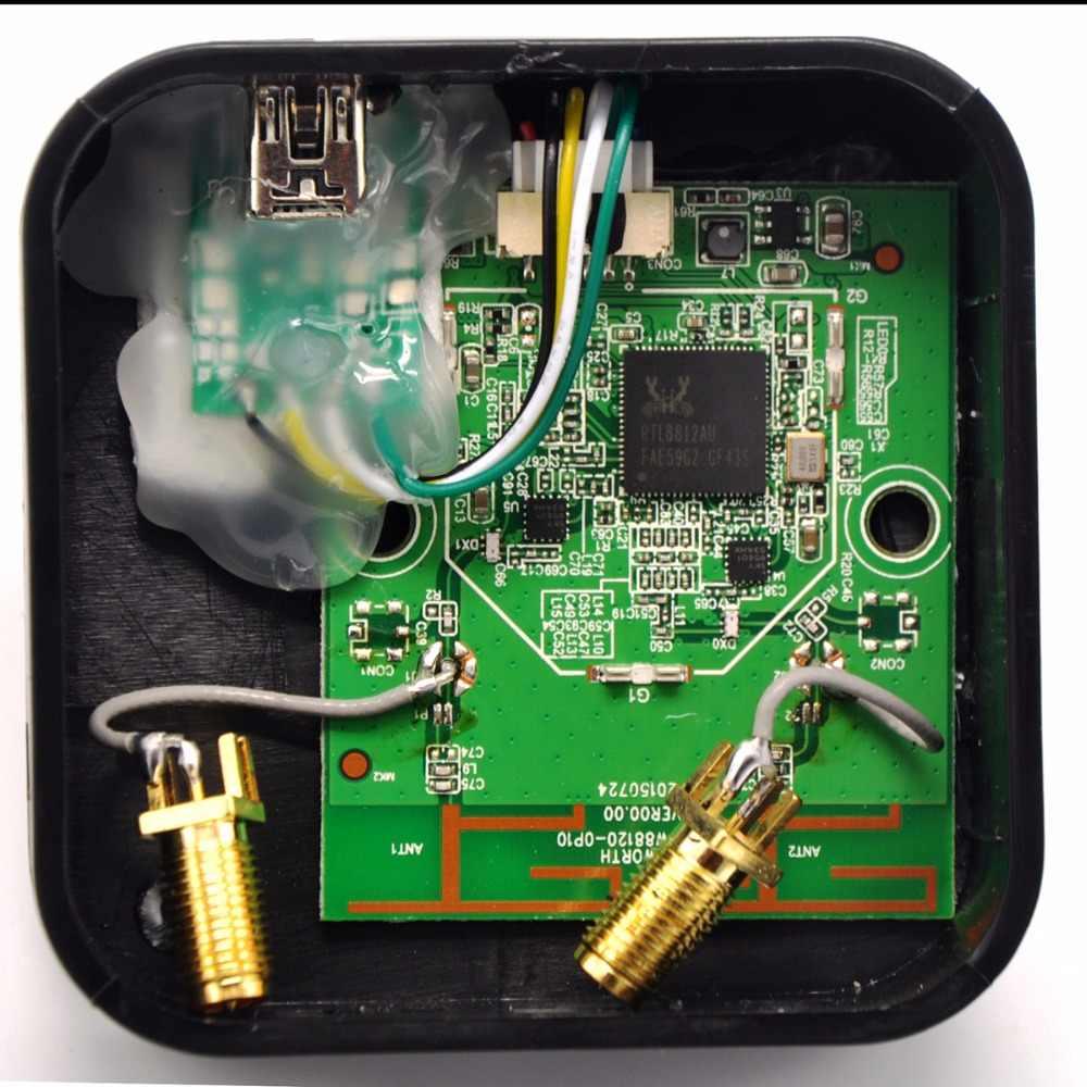 802 11ac Dual Band 1200Mbps RTL8812AU Network Wireless WLAN USB WiFi  Adapter + 6dBi WiFi Antenna for Kali Linux/Windows 7/8/10