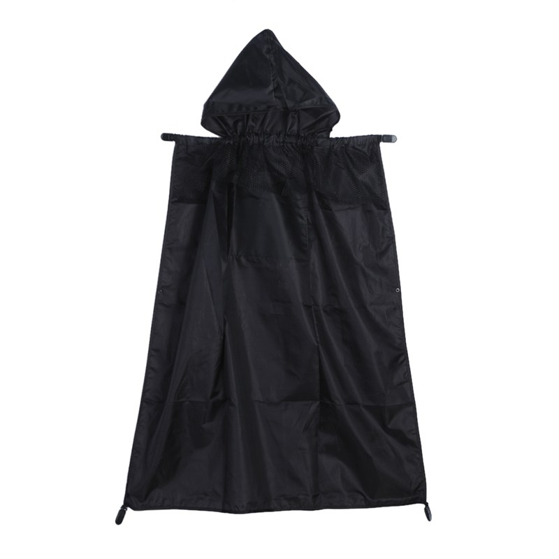 Baby Carrier Cover Cloak Mantle Cover Backpack font b Kids b font Waterproof Windproof Suspender for