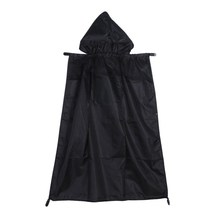 Baby Carrier Cover Cloak Mantle Cover Backpack Kids Waterproof Windproof Suspender for Mothers Black Baby Safety Rainproof Sling