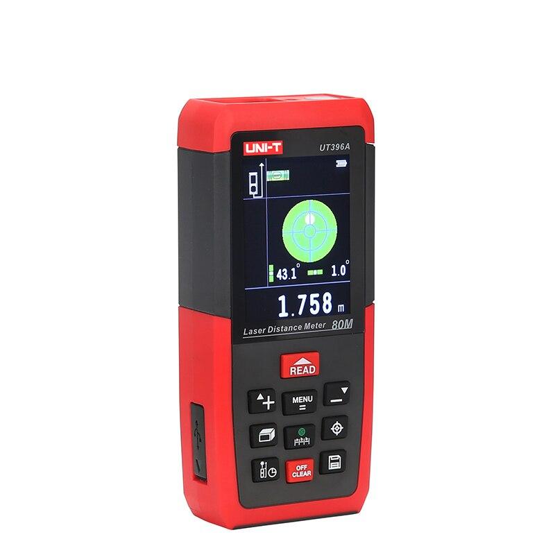 UNI-T télémètre Laser numérique télémètre caméra USB 80 m 120 m ruban à mesurer Trena Laser règle outil télémètre - 4