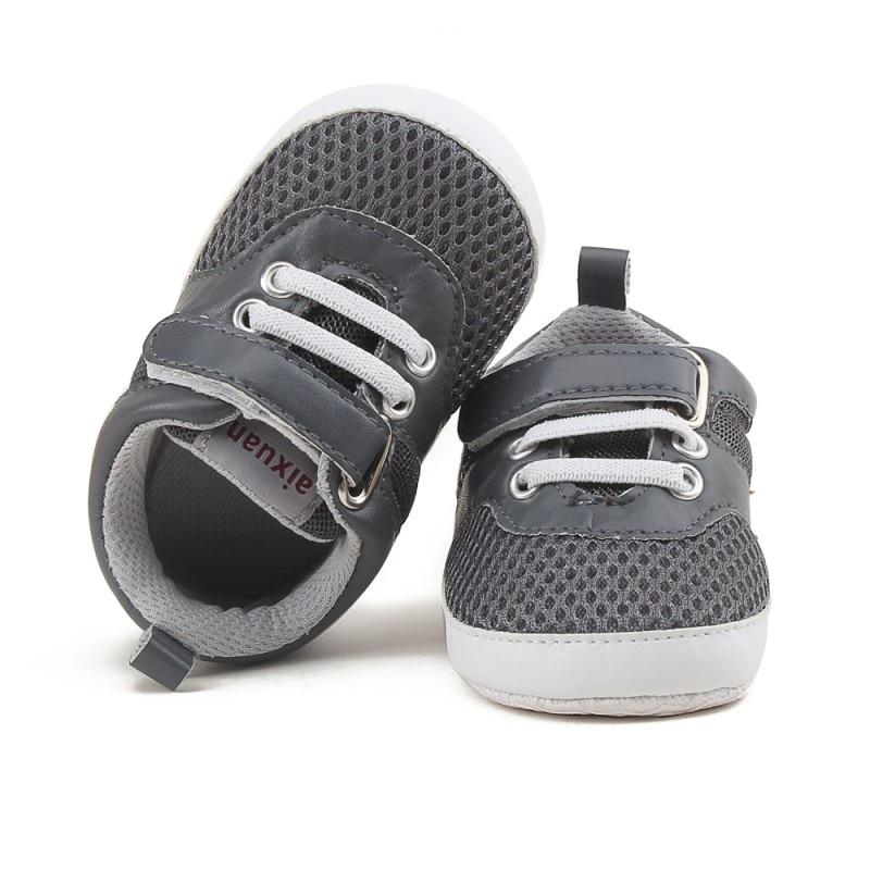 2017 Summer Baby Shoes Newborn Girl Boy Soft Sole First Walkers Anti-skid Toddler Infant Sneaker Shoes Casual Prewalker j2