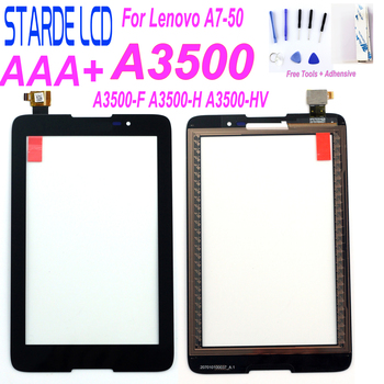 цена на Starde New LCD For Lenovo A7-50 A3500 A3500-F A3500-H A3500-HV Replacement Touch Screen Digitizer Glass 7-inch Black with Tools
