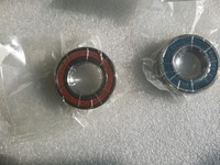 UTE double sealed angular contact bearings H7007C 2RZ/P4 DTA Speed spindle bearings CNC 7007 35mmX62mmX14*2mm ABEC 7