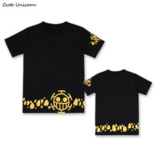 One Piece Heart Pirates Casual Tees (15 styles)