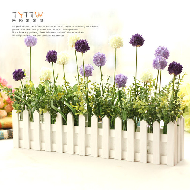 jardiniere avec fleurs artificielles. Black Bedroom Furniture Sets. Home Design Ideas