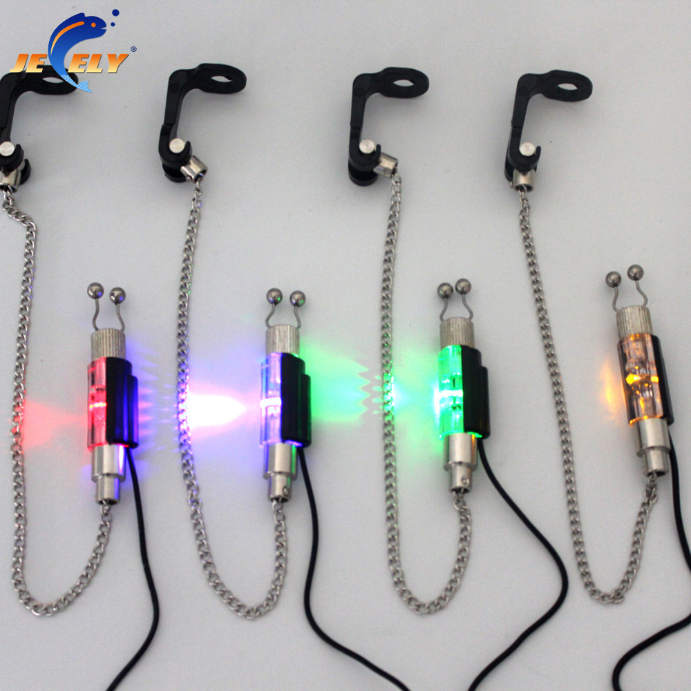 SW3-JY Illuminated Fishing Swinger Chain Swinger Carp Fishing Indicator 4 Colors For Bite Alarm