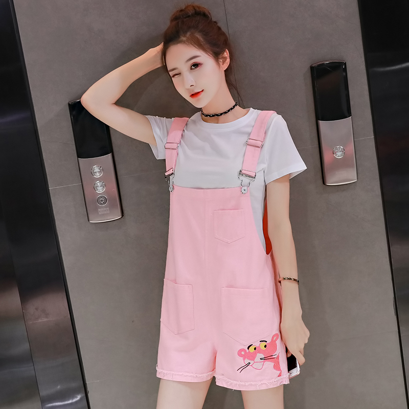 Denim overalls 2019 Spring Women Casual Jeans Jumpsuit Overalls Denim Romper Long Trousers Vaqueros Straps Rompers Female